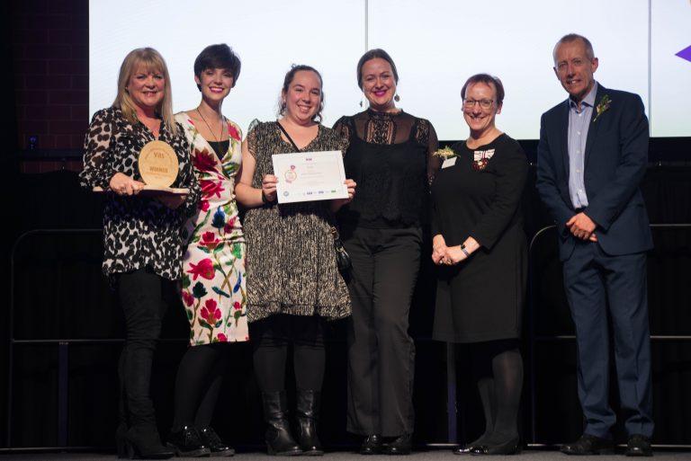 St Luke's win Sheffield Volunteering Award